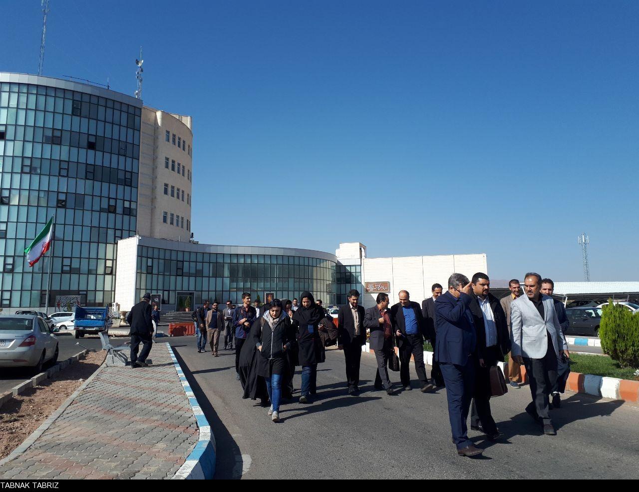 بازدید سرپرستان خبرگزاری ها و مدیران مسئول پایگاه های خبری استان آذربایجان شرقی از منطقه آزاد ارس+تصاویر